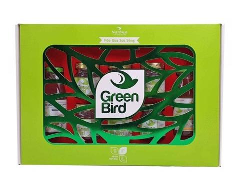 Hộp quà tổ yến sào Sức Sống Green Bird - hộp 8 món